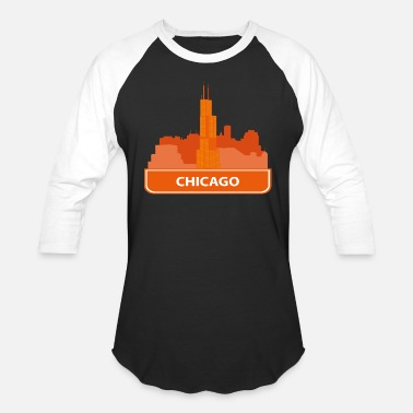Chicago chicago - Unisex Baseball T-Shirt