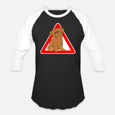 Brussels Griffon Dog Brussels Griffon Dog - Baseball T-Shirt