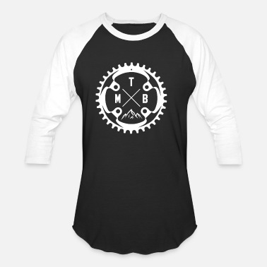 Bike Mountain Bike MTB - Baseball T-Shirt