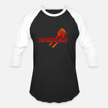 Grilled Meat Grilling Grill Meat - Unisex Baseball T-Shirt