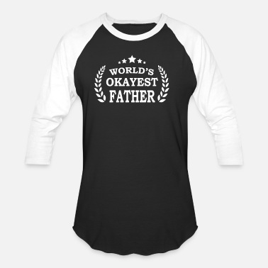Fatherhood birthday present idea for fathers - Unisex Baseball T-Shirt