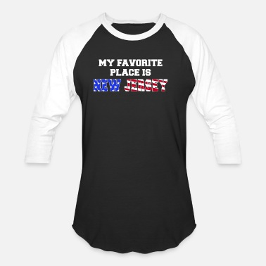 New Jersey American Flag USA new jersey american flag - Unisex Baseball T-Shirt