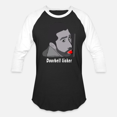 Doorbell the doorbell licker funny t-shirt - Baseball T-Shirt