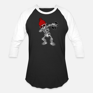 Funny Video Game Apparel Dabbing Video Games Ugly Christmas Sweater Apparel - Baseball T-Shirt