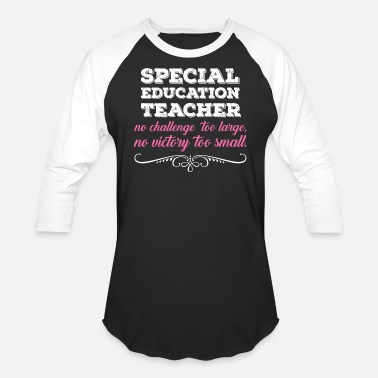 Education Special Education Teacher - Baseball T-Shirt