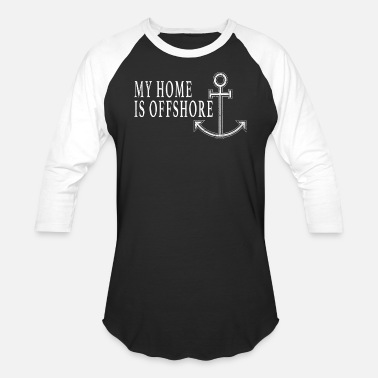 Boat House Home Is Offshore Boating Shirt Boat Shirt Love Boating Shirt Lake Shirt Sailing Boat Shirt - Unisex Baseball T-Shirt