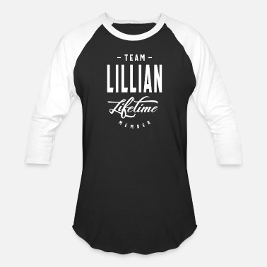 Lifetime Team Lillian Lifetime Member - Unisex Baseball T-Shirt