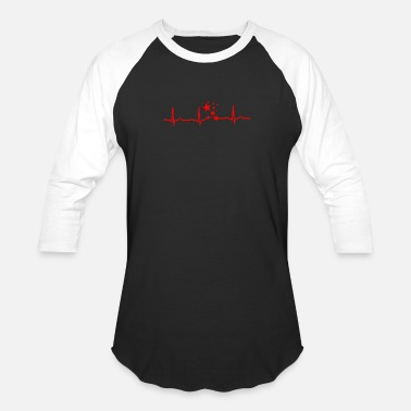 Star Sign Shooter GIFT - STARS RED - Baseball T-Shirt
