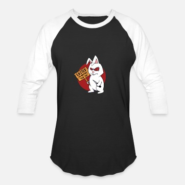 Knife Bunny Eastern I´m Waiting For You Easter Bunny - Unisex Baseball T-Shirt