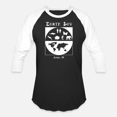 Eventing Earth Day - Earth Day 3 - Unisex Baseball T-Shirt