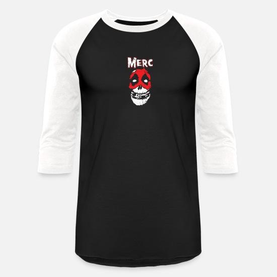 Misfits Fiend Skull Unisex Baseball T-Shirt | Spreadshirt