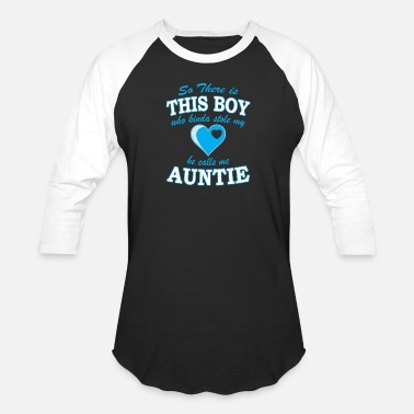 Mame Auntie - This boy who stole my heart call me aun - Baseball T-Shirt