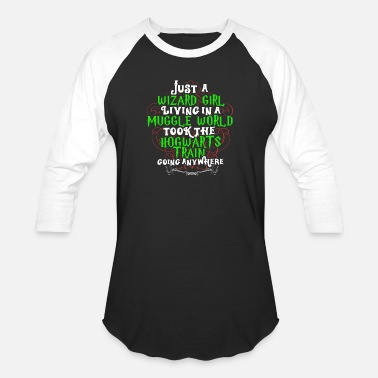 Funny Harry Potter Slogan Harry Potter – Just a wizard girl - Unisex Baseball T-Shirt