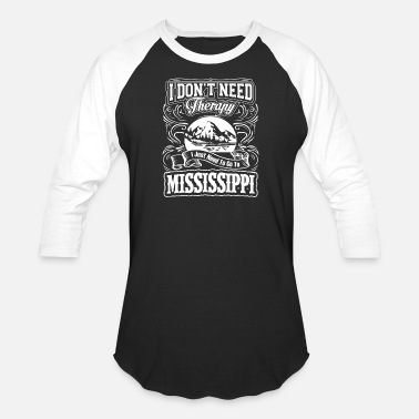 John Hurt Mississippi - I just need to go to mississippi t - Unisex Baseball T-Shirt