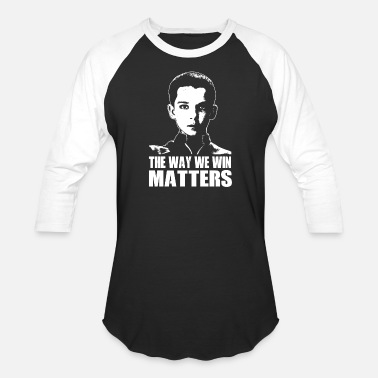 Games Workshop Ender's game - The way we win matters for fans - Unisex Baseball T-Shirt