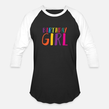 Birthday Girl Birthday Girl 5 - Unisex Baseball T-Shirt