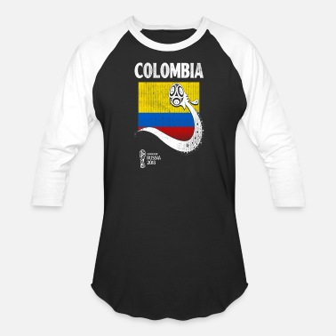 Colombia Usa Colombia Team Flag - Baseball T-Shirt