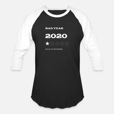 Yellow 2020 sucks - Unisex Baseball T-Shirt