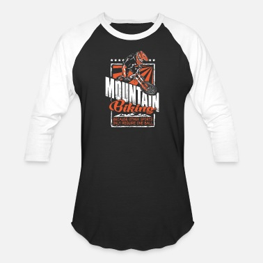 Mountain Hare Mountain - mountain biking because other sport - Unisex Baseball T-Shirt