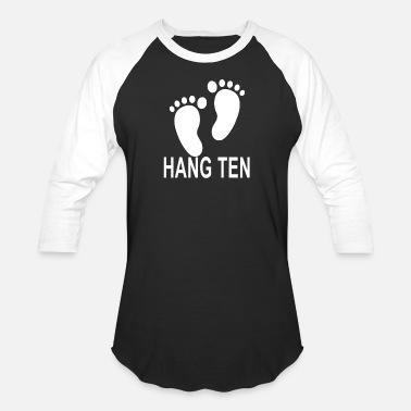 Ten hang_ten_ - Unisex Baseball T-Shirt