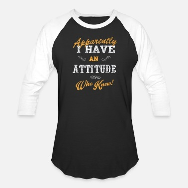 Attitude The attitude - Unisex Baseball T-Shirt
