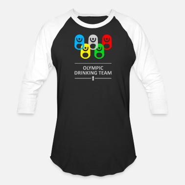 Beer Olympics Olympic drinking team - Baseball T-Shirt