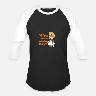 Germanic Tribes German - Unisex Baseball T-Shirt