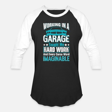 Car-mechanik Car - funny car garage - Baseball T-Shirt
