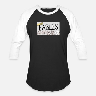 1s READING MORE FABLES THEODD1SOUT - Baseball T-Shirt