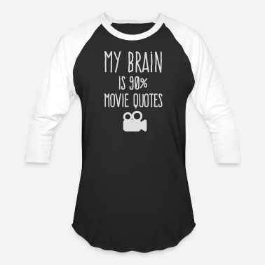 90s Movies My brain is 90 movie quotes - Baseball T-Shirt