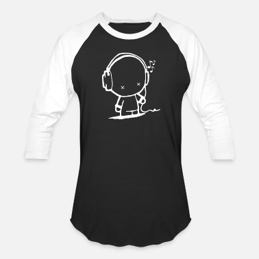 Music Man - Baseball T-Shirt