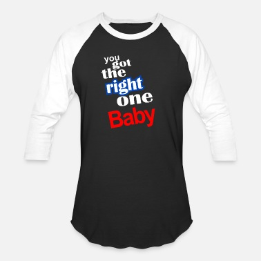Baby Sayings vintage baby say - Unisex Baseball T-Shirt