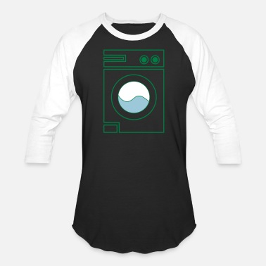 Washing Machine washing machine - Unisex Baseball T-Shirt