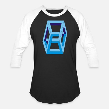 3d Graphics Box 3D - Baseball T-Shirt