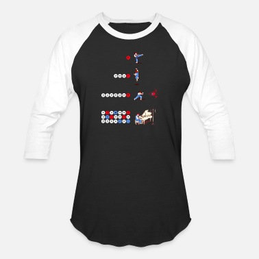 Street Fighter Funny Street Fighter Piano - Baseball T-Shirt