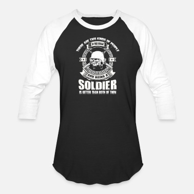 Soldier's Princess soldier chibi soldier soldier's princess small - Unisex Baseball T-Shirt