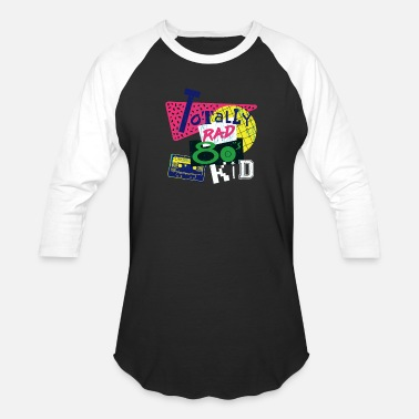 Total Sports Totally Rad - Unisex Baseball T-Shirt