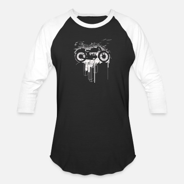 Gears Motorcycles about Motorcycle gear - Baseball T-Shirt