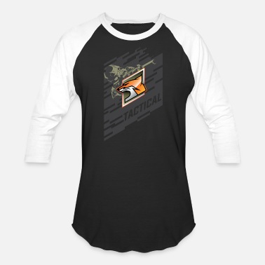 Tactics Tactical Fox - Unisex Baseball T-Shirt
