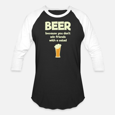 I Love You More Than Air Racing Men - beer because you don't win friends with a - Unisex Baseball T-Shirt