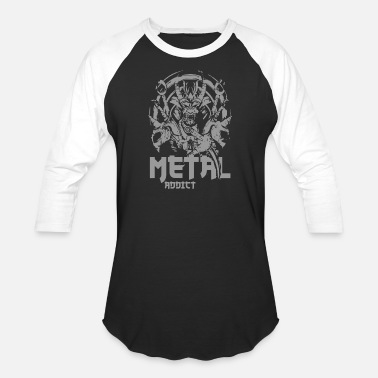 Forks metal addict 2 10 - Baseball T-Shirt