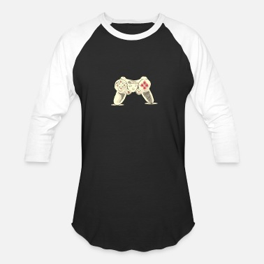 PLAYFUL JOYPAD – FUNNY GRAPHIC TEE FOR MEN & WOMEN - Unisex Baseball T-Shirt