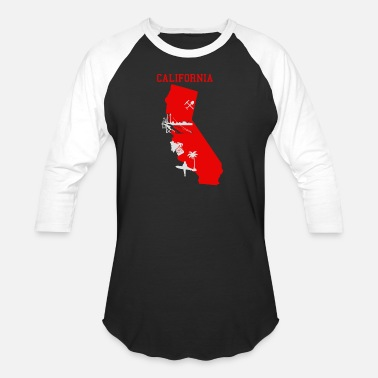 California California - Baseball T-Shirt