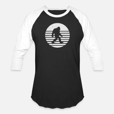 bigfoot - Unisex Baseball T-Shirt