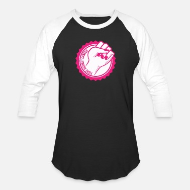FIGHT BREAST CANCER - Unisex Baseball T-Shirt