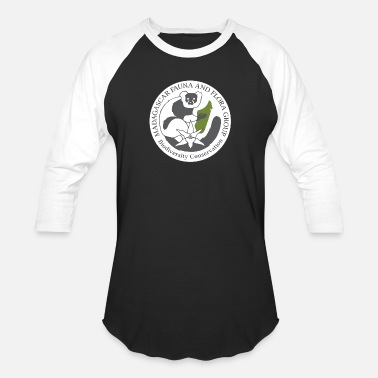 Fauna Madagascar Fauna and Flora Group Logo - Baseball T-Shirt