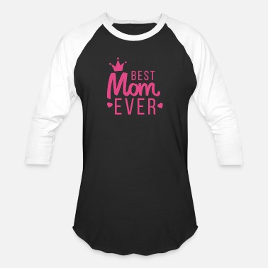 Best Queen Queen Mom The Best - Baseball T-Shirt
