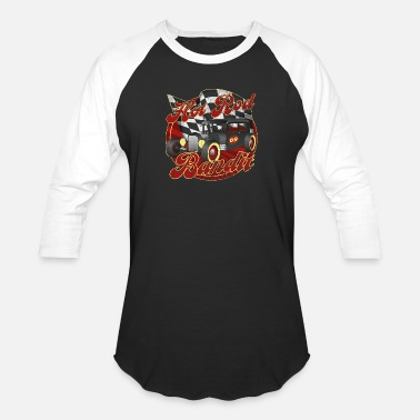 Rockabilly Rockabilly Hot Rod Bandit - Unisex Baseball T-Shirt