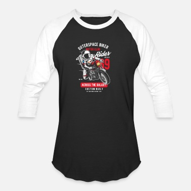Outerspace Outerspace Biker - Unisex Baseball T-Shirt
