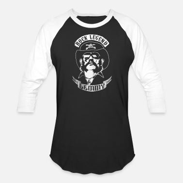 Lemmy-kilmister LEMMY T-SHIRT rock legend 1945-2015 - Unisex Baseball T-Shirt